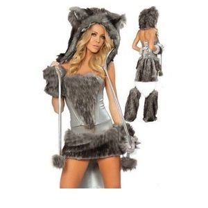 Sexy Wolf Costume Size S